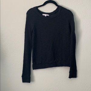 Tops - Mesh black long sleeve